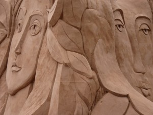 Picasso sand faces