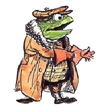 Mr Toad © Estate of E H Shepard 2004. Licensed by Copyrights Group.
