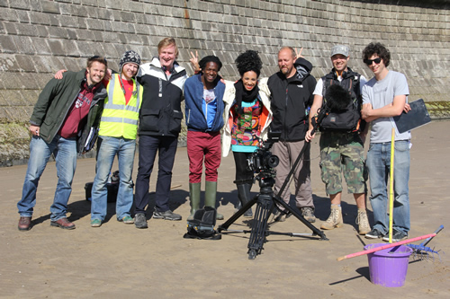 CBBC's new art show Totally Rubbish Crew with Jamie