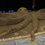 Indoor Octopus Sand Sculpture