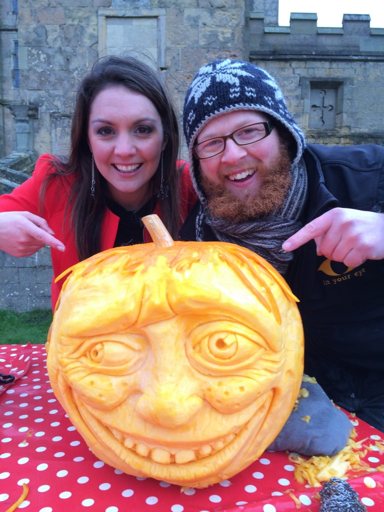 ITV Day Break Pumpkin Carving
