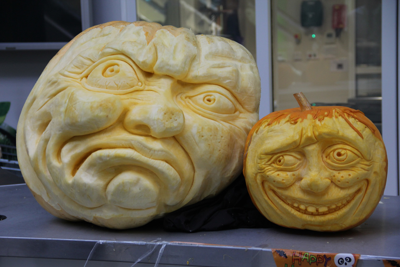 Our Professional Pumpkin Carvings in Bradford