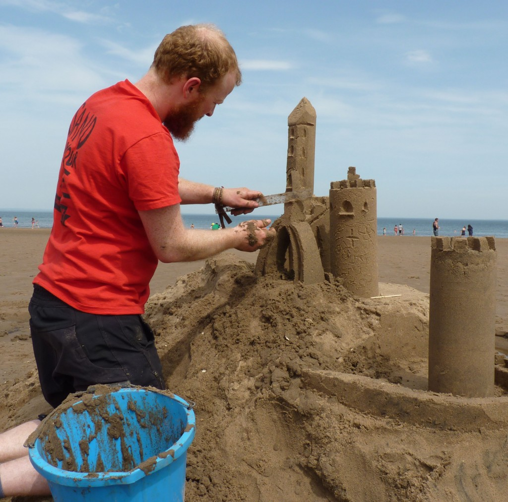 Sand castle carving tips