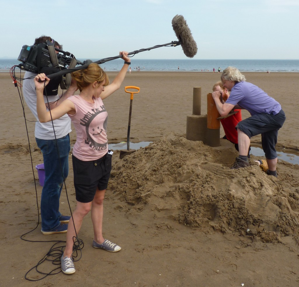 Revealing the Sand Castle