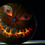 carved pumpkin UK workshop