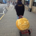 bradford waterstones carved pumpkin