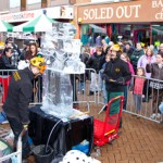 Rhyl Live Ice Carving