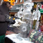 Rhyl Ice Sculpture