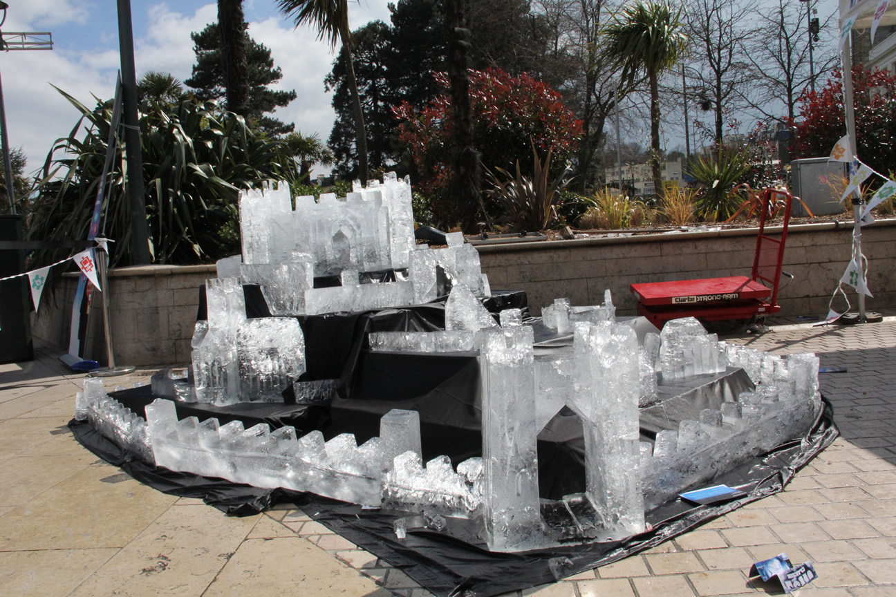 Bounmouth University Ice Castle