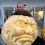 Jamie Wardley Pumpkin Carving