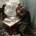 Jamie Wardley ice sculptor