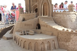 sand castle for the one show summer festival