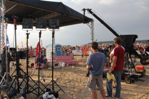 Filming the One Show