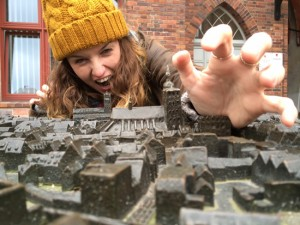 Claire the giant at stralsund