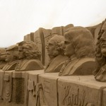german composers sand sculpture