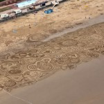 sand drawing bridlington
