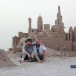 sand sculpture in Doha