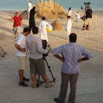 filming for Qatar tourism
