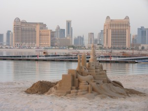Doha and sculpture
