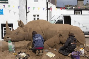 Rhino for East Neuk Festival in Crail