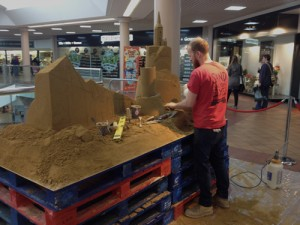 indoor sand sculpture