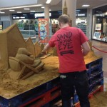 Jamie Wardley sand sculptor