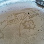sand drawing, north east