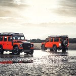 The new Defender on show. Image courtesy of Land Rover