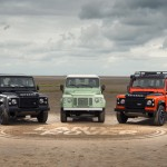 The new series in front of our sand logo Image courtesy of Land Rover