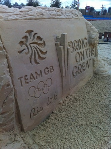 Team GB sculpture