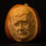 Jeremy Paxman ready for Halloween
