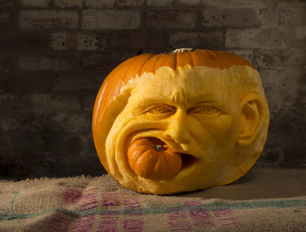 Halloween Pumpkin Carvings That Like To Party