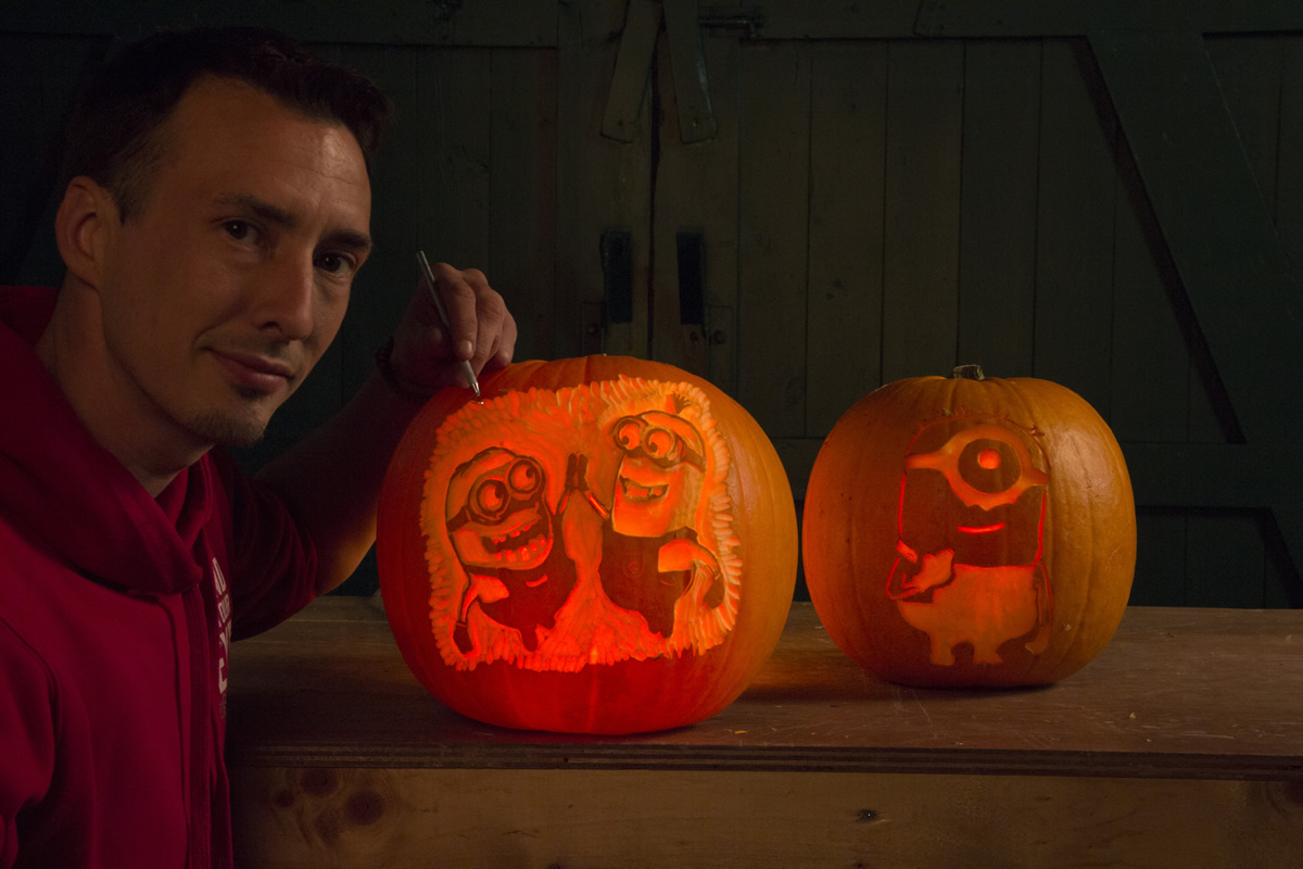 Pumpkin Carvers, Sand In Your Eye