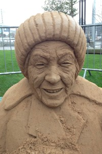 Lucy part sculpted in City Park, Bradford