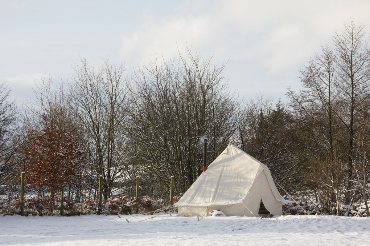 Yorkshire Dales winter camping