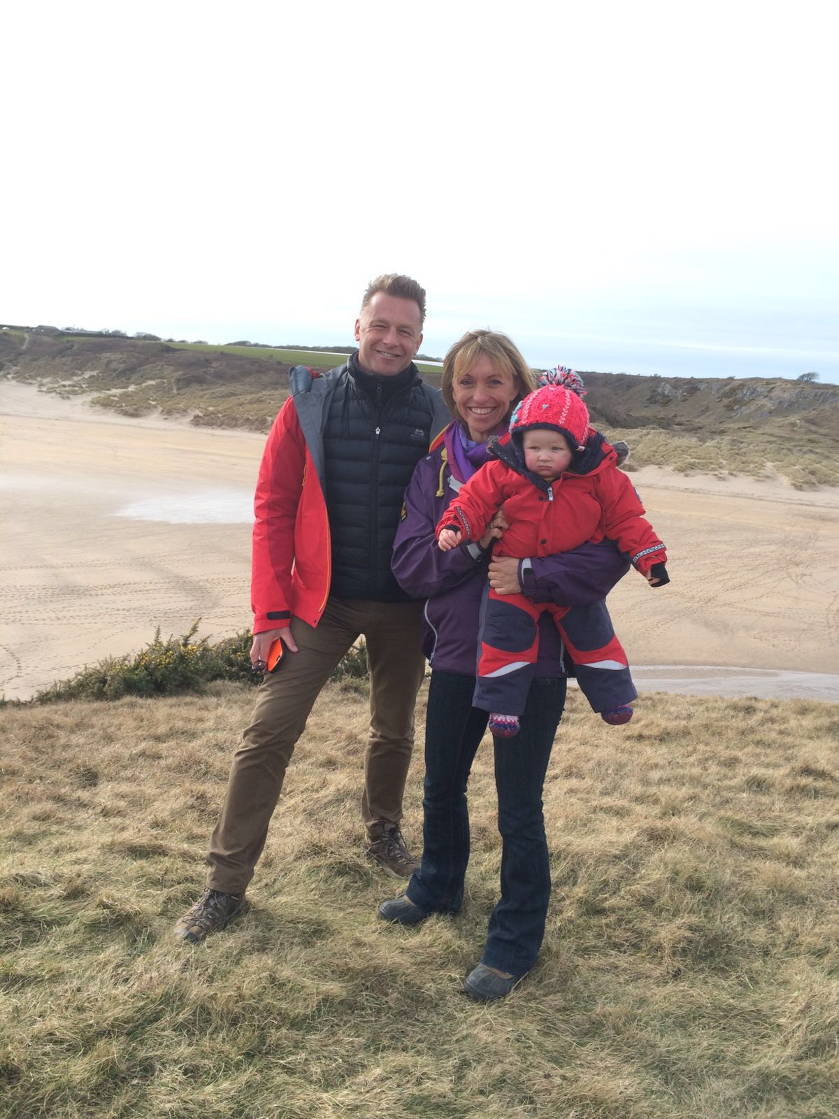 Florence with Chris Packham and Michaela Strachan