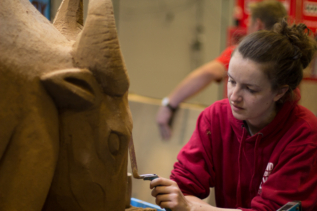 UK Sand Sculptor Claire Jamieson from Sand In Your Eye