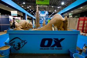 Sand Sculptures for Ox Tools