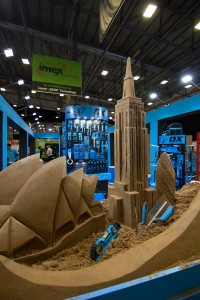 Sculpted cities in the sand