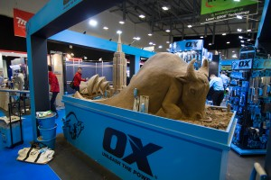Sand Sculpture for Ox Tools