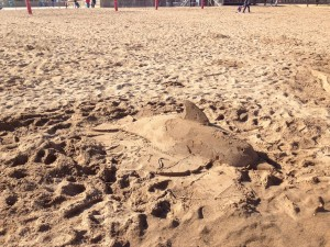 Childrens sand sculpture workshops