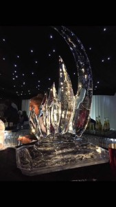 party ice sculpture