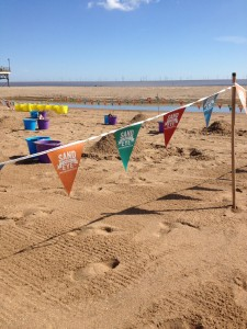 Sand sculpture workshop events for beaches and festivals in the UK