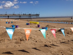 the perfect summer event, a beach sand sculpture workshop!