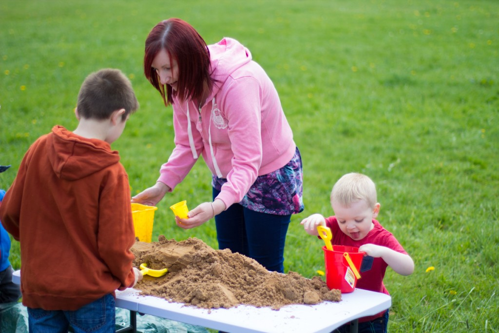 Family fun sand sculpture events
