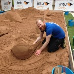 sand sculptor Jamie Wardley