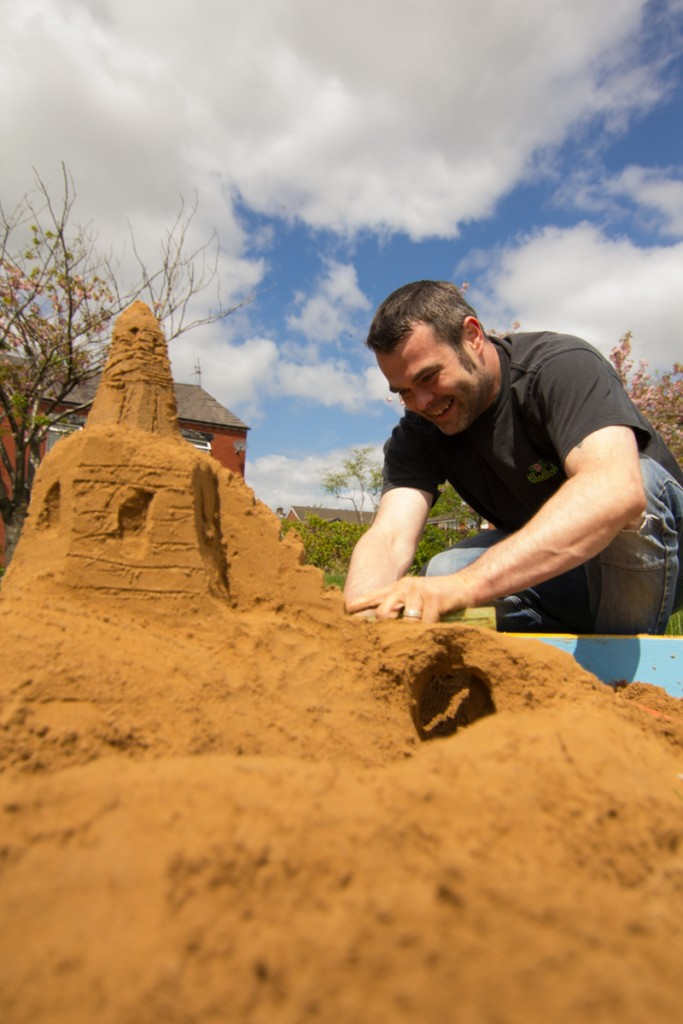 portable sand sculpture workshops