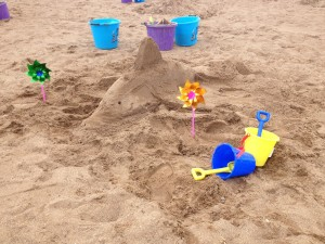 Children and family sand sculpture workshops
