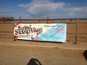 Skegness sand sculpting weekend