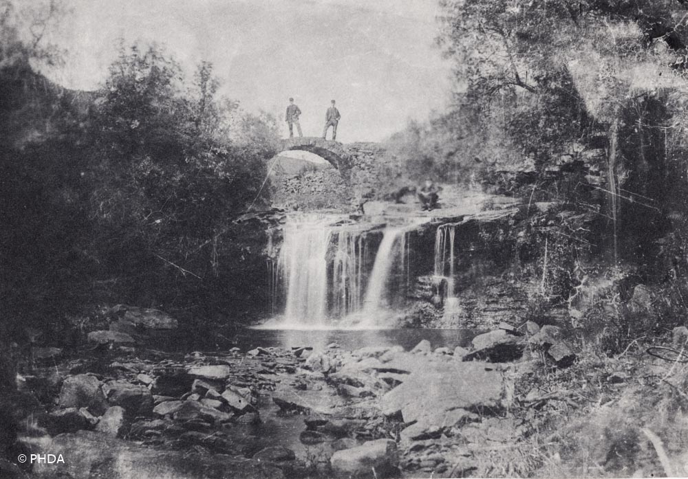 Lumb Bridge 100 years ago